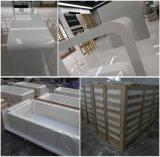 現代棒家具の白い石造りの食糧棒表