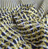 Tela Chiffon de la arruga atractiva para el vestido de noche de la ropa/Abaya/
