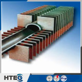 Abaisser l'économiseur résistant à la corrosion de chaudière de tube d'ailette du double H de coûts de fonctionnement