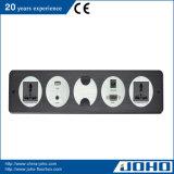 Tischplattenkontaktbuchse-Aluminiumlegierung-Tisch-Kontaktbuchse-Panel-Typ Kontaktbuchse