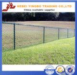 Загородка звена цепи конкурентоспособной цены PVC нового дешевого цены Yb-09 2016 покрытая