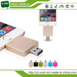 3 in 1 8GB USB OTG con Free Logo