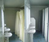 Talla y tipo modificados para requisitos particulares casa prefabricada del envase para el tocador público