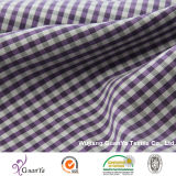 Tissu teint par filé cationique pour la chemise
