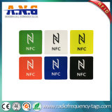 Ntag216 Ntag215 이동 전화를 위한 Contactless 13.56MHz Hf RFID 꼬리표
