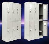 6 de Garderobe van Armoire van de Opslag van het Metaal van de deur online