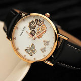 Exquisito con el reloj de las mujeres de piedra cristalinas
