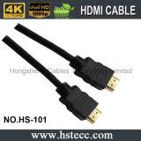 Cabo de alta velocidade V2.0 V1.4 do molde HDMI para a HDTV e o teatro Home