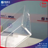 Plateau carré acrylique carré clair d'usine