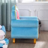 Het Europese Hete Stevige Hout van de Verkoop met Geplaatste de Bank van de Stof/het Meubilair van Kinderen