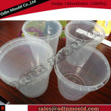 4 Cavity Thin Wall Food Container Injection Mold