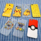 2016 de Hete Dekking/het Geval van de Telefoon van het Beeldverhaal/van het Spel met Pokemon Go/Pikachu/Pokeball voor iPhone5/6/6plus