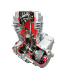 motor da motocicleta 3D150-B