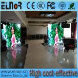 Pantalla de visualización a todo color de interior popular de LED P6