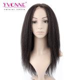 Perruque brésilienne d'avant de lacet de cheveu de Yaki