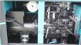 poder diesel silencioso do gerador de 40kVA Denyo por Mitsubishi