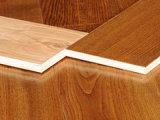 Color natural dirigido teca del suelo de madera
