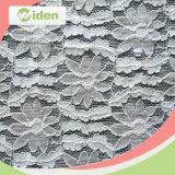 Lacet attachant de broderie avec le tissu de lacet de guipure de Docoration de fleur