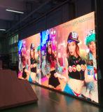 Pantalla de visualización publicitaria video a todo color de interior/al aire libre de LED (el panel de 500*500 mm/500*1000 milímetro)
