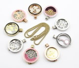 Enamel 316L Stainless Steel Fashion Locket Pendant for Necklace Jóias