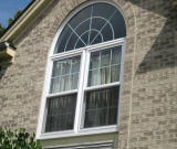 Ventana de aluminio revestida usada hogar del polvo para la ventana del marco