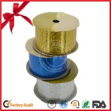 Blue Holographic Ribbon Roll for Decoration