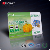 Carte faite sur commande programmable d'IDENTIFICATION RF d'impression de Monza 6