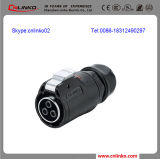 높은 Power Cable Circular Connector 또는 Male Female Thread Connector/Wire Connector