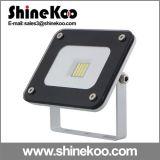 Lumières d'inondation ultra-minces de la garniture 10W LED SMD de Certeficate de la CE