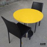 人工的な大理石の固体表面のコーヒーテーブル及びダイニングテーブル