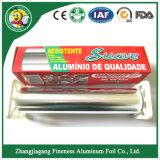 Rodillo higiénico del papel de embalaje del papel de aluminio del uso de la cocina de la venta del hogar reciclable caliente de la alta calidad
