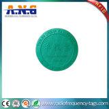 地下鉄トークン円形NFCステッカーは公共交通機関のための13.56MHzに付ける