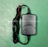 заряжатель свинцовокислотной батареи 12V 1A с голой электродной проволкой