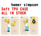 Am neuesten! Sofe Slim Ultra-Thin Waterproof Simpson TPU Phone Fall für iPhone 6