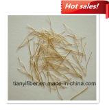 Ventas directas de la fábrica de acero micro revestida de cobre amarillo de la fibra