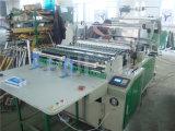 Duas linhas saco de plástico que faz a maquinaria
