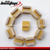 De Malende Schijf van de diamant voor het Concrete Oppoetsen met het Systeem van het Slot Redi