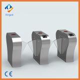 Système bi-directionnel d'entrée de porte du tourniquet RFID d'automation de porte de barrière d'aileron de demi de taille de sécurité de prestige