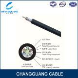 Conduit ou antenne renforcé central de fibre optique extérieur du faisceau FRP Applicated du câble 2-72 de la qualité GYFTY