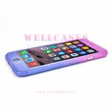 Het nieuwe Hoogtepunt van het Geval van de Telefoon van de Gradiënt van de Aankomst Mobiele die voor iPhone 5/6/6plus/Se wordt behandeld