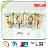 Taza de cerámica promocional del regalo de la Navidad