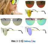 Wholesale Sunglasses China Fashion Eyewear Óculos de sol baratos com Ce e FDA
