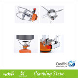 Gas esterno Camping Stove in Brief Design