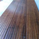 기름을 바른 얼룩이 진 건류한 대나무 옥외 Decking를 방수 처리하십시오