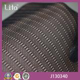 Lita J130340 Black Small CirkelOntwerp Spandex Stof van het Netwerk