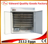 2112 Ei-Inkubator-automatischer Ei-Brutplatz-Maschinen-Preis