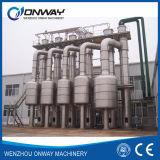 Fábrica de tratamento Titanium da efluência da água Waste do cristalizador da evaporação da película do vácuo do aço inoxidável
