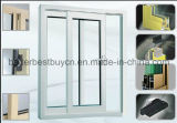 Окно лидирующей конструкции алюминиевое с сползая отверстием