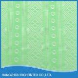 Verde esmeralda da tela do laço, tela do laço da importação, tela européia do laço