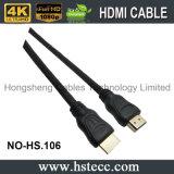 Kabel de van uitstekende kwaliteit van de Vorm HDMI van pvc met Ethernet